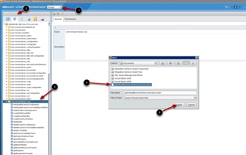 How to extend vCAC with vCO Part 2 – Hello world Script in Guest