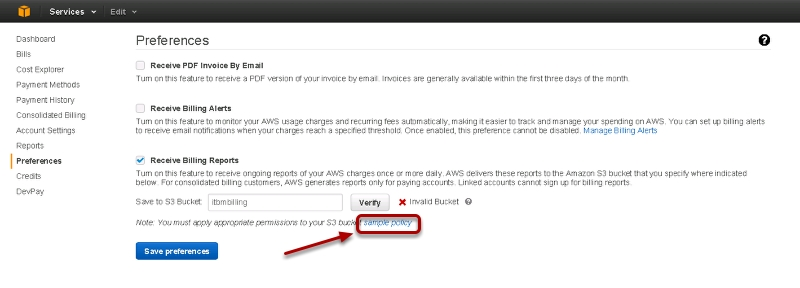 How to add AWS account to ITBM standard 1 1 | | VMtoCloud com
