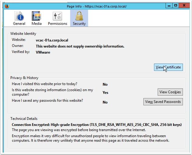 vRA Remote Console Certificate Gotcha     VMtoCloud com