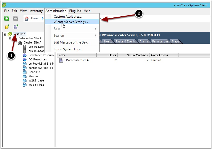 How to increase vCenter concurrent clone operations