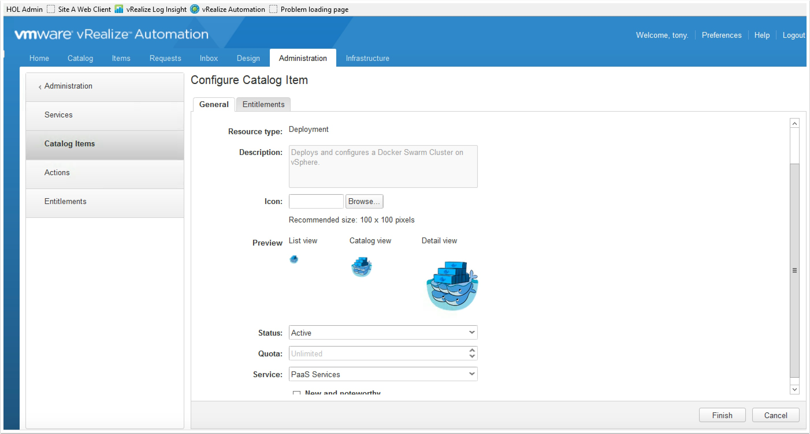 The Docker Swarm Blueprint for vRA7 is here!     VMtoCloud com