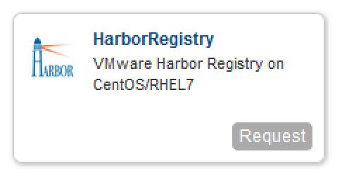 VMwareHarborBlueprint